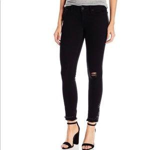 NWOT Lucky Brand Bridgette skinny studded jeans